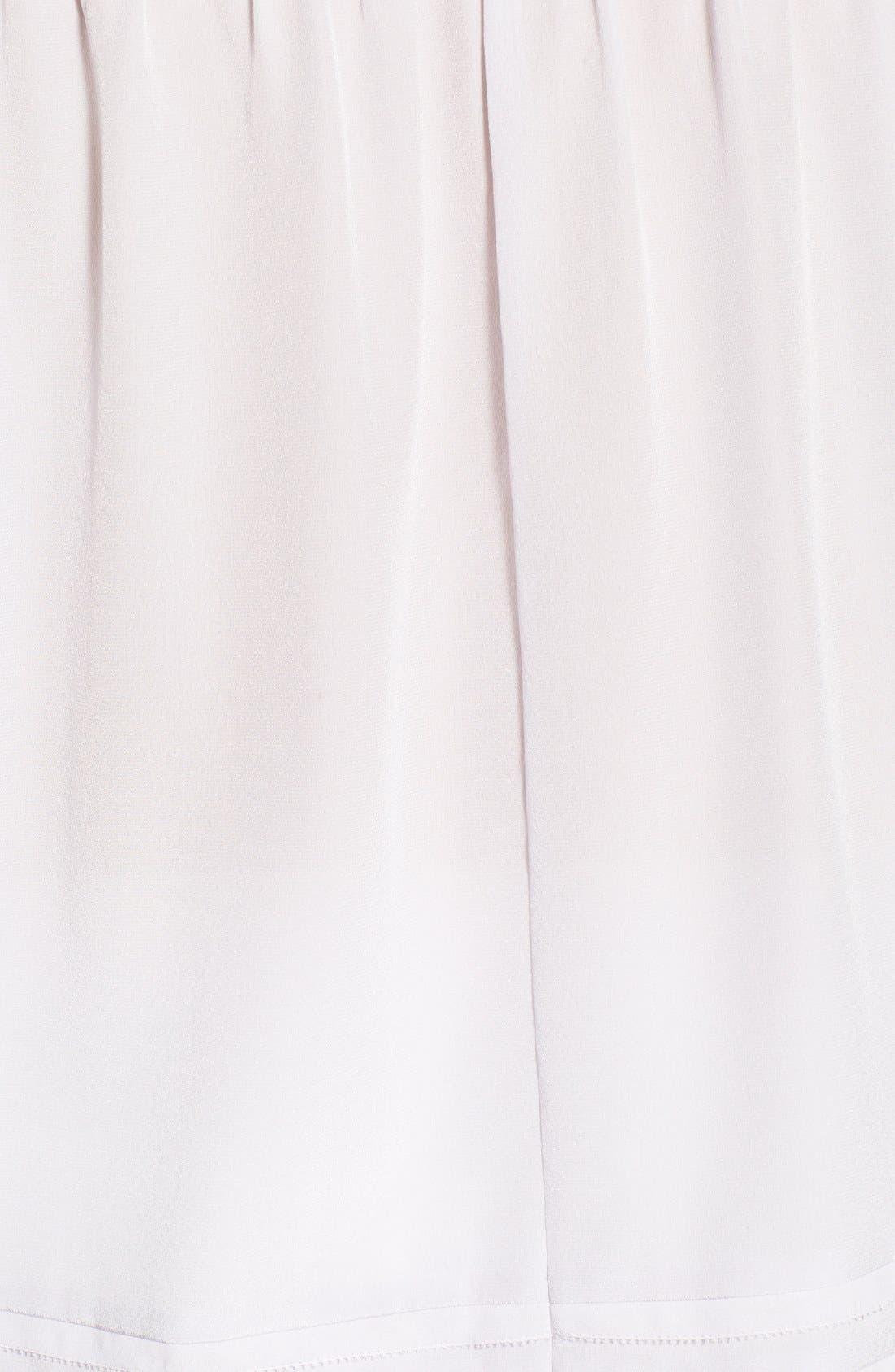 Alternate Image 5  - Olivia Palermo + Chelsea28 Silk Off the Shoulder Peasant Top