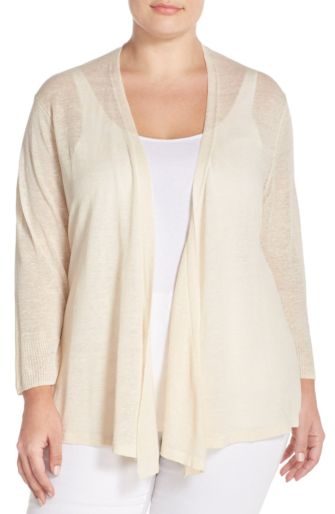 NIC+ZOE '4-Way' Three Quarter Sleeve Convertible Cardigan