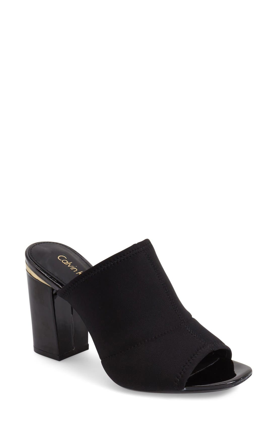 Alternate Image 1 Selected - Calvin Klein 'Cice' Mule Sandal (Women)