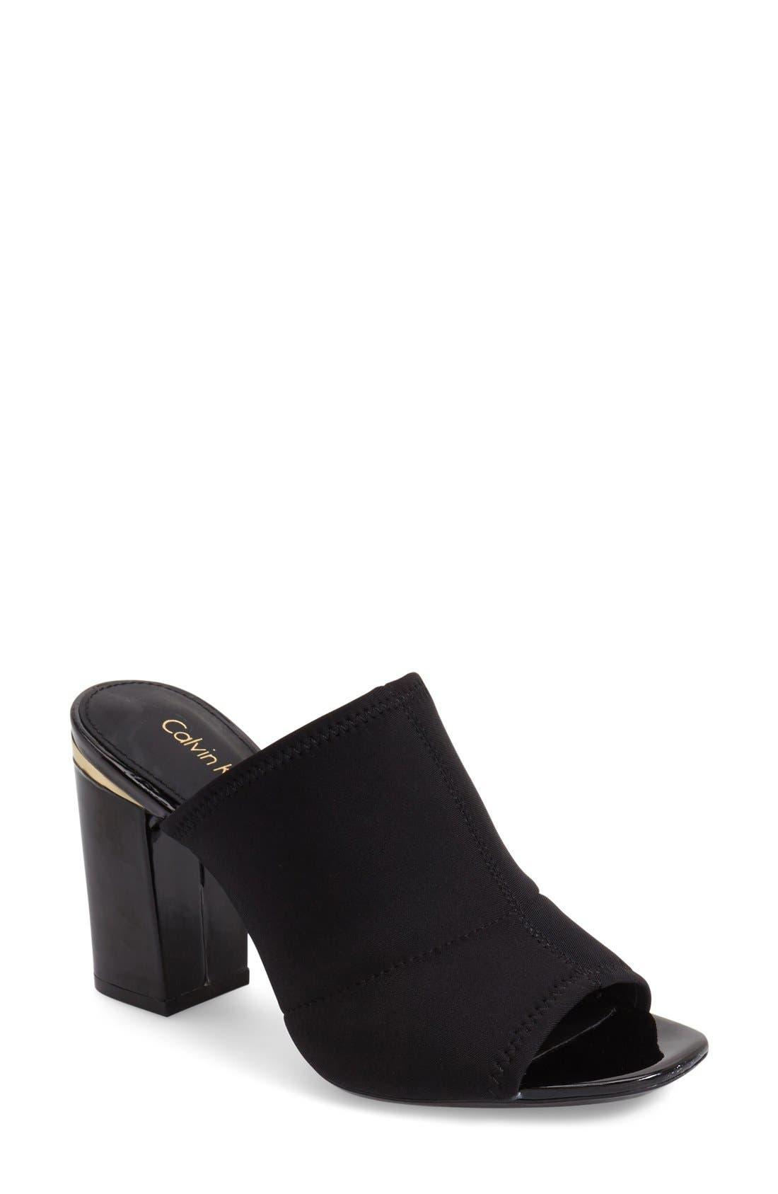 Main Image - Calvin Klein 'Cice' Mule Sandal (Women)