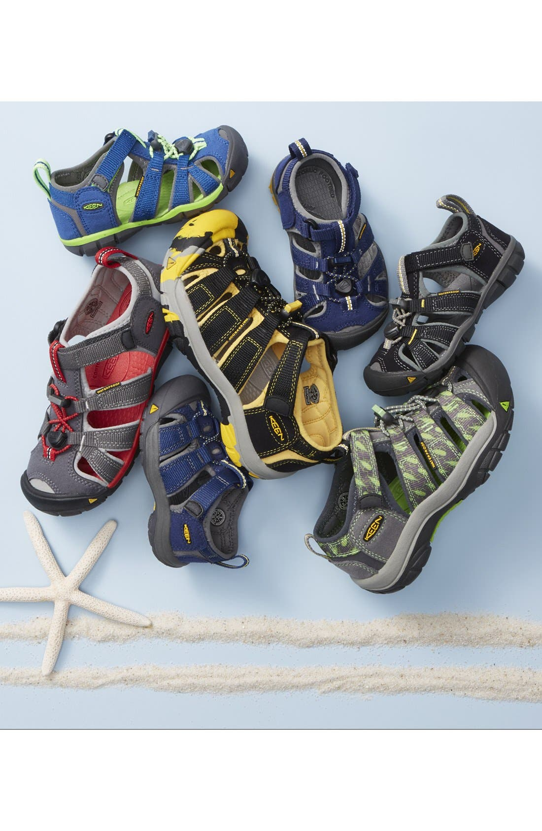 Alternate Image 5  - Keen 'Seacamp II' Waterproof Sandal (Baby, Walker, Toddler, Little Kid & Big Kid)