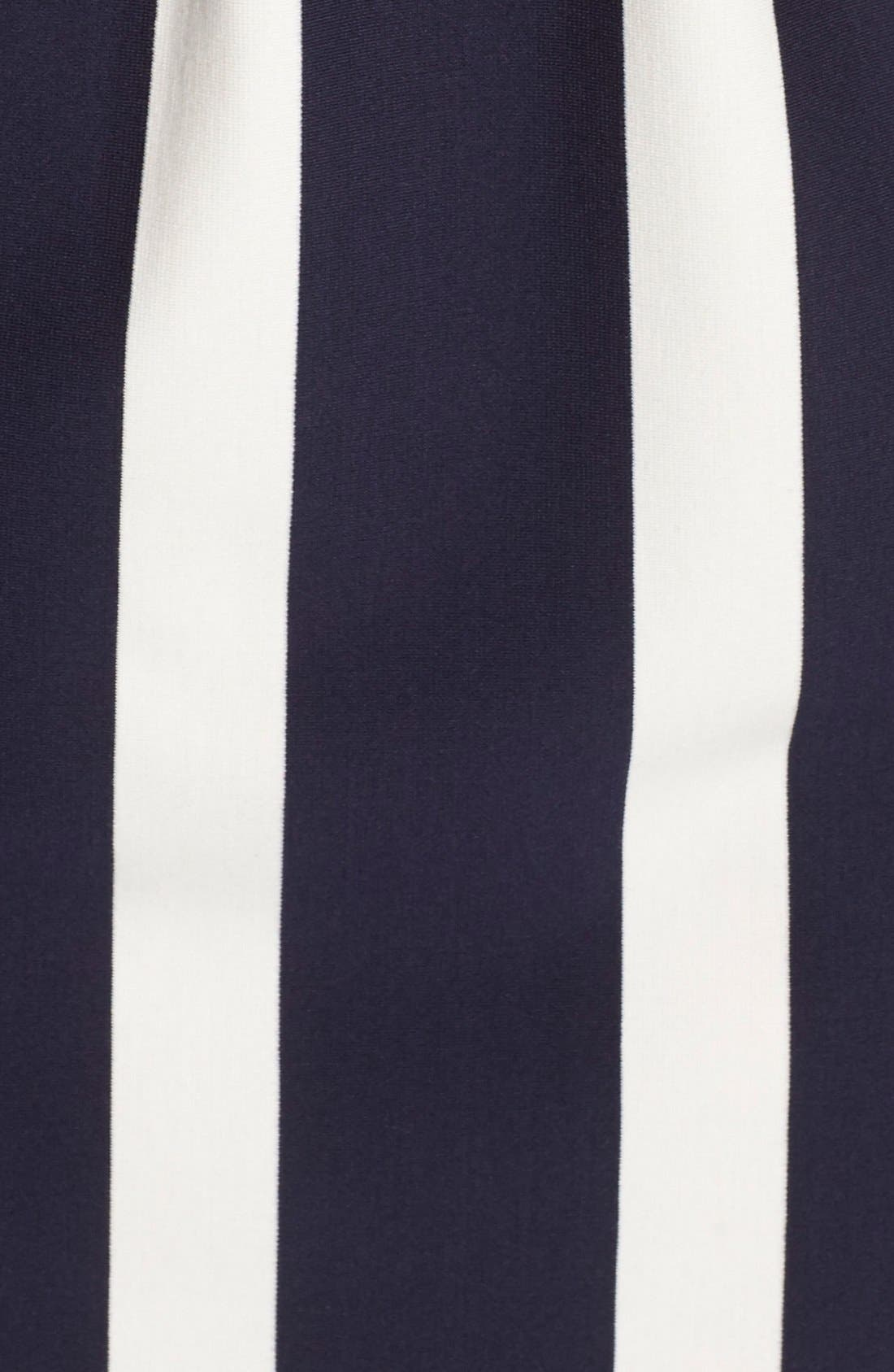 Alternate Image 6  - Eliza J Stripe Knit Fit & Flare Dress (Regular & Petite)