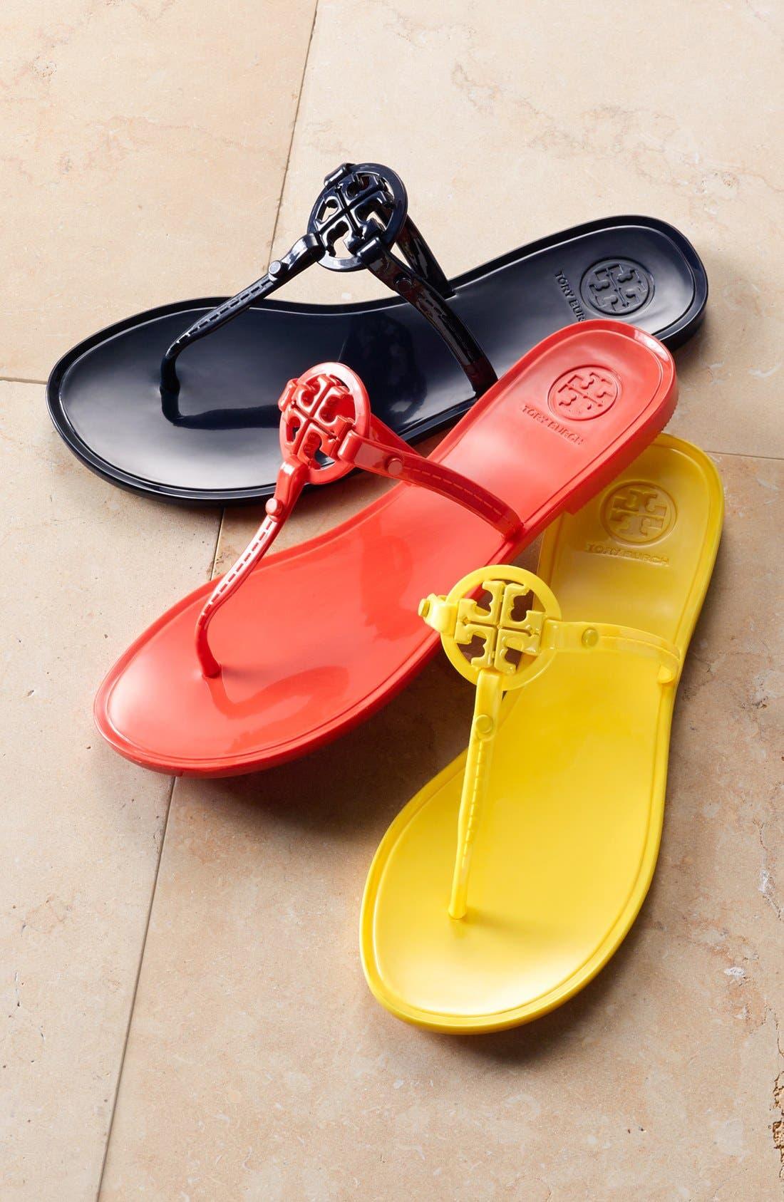 Alternate Image 5  - Tory Burch Jelly Thong Sandal (Women)