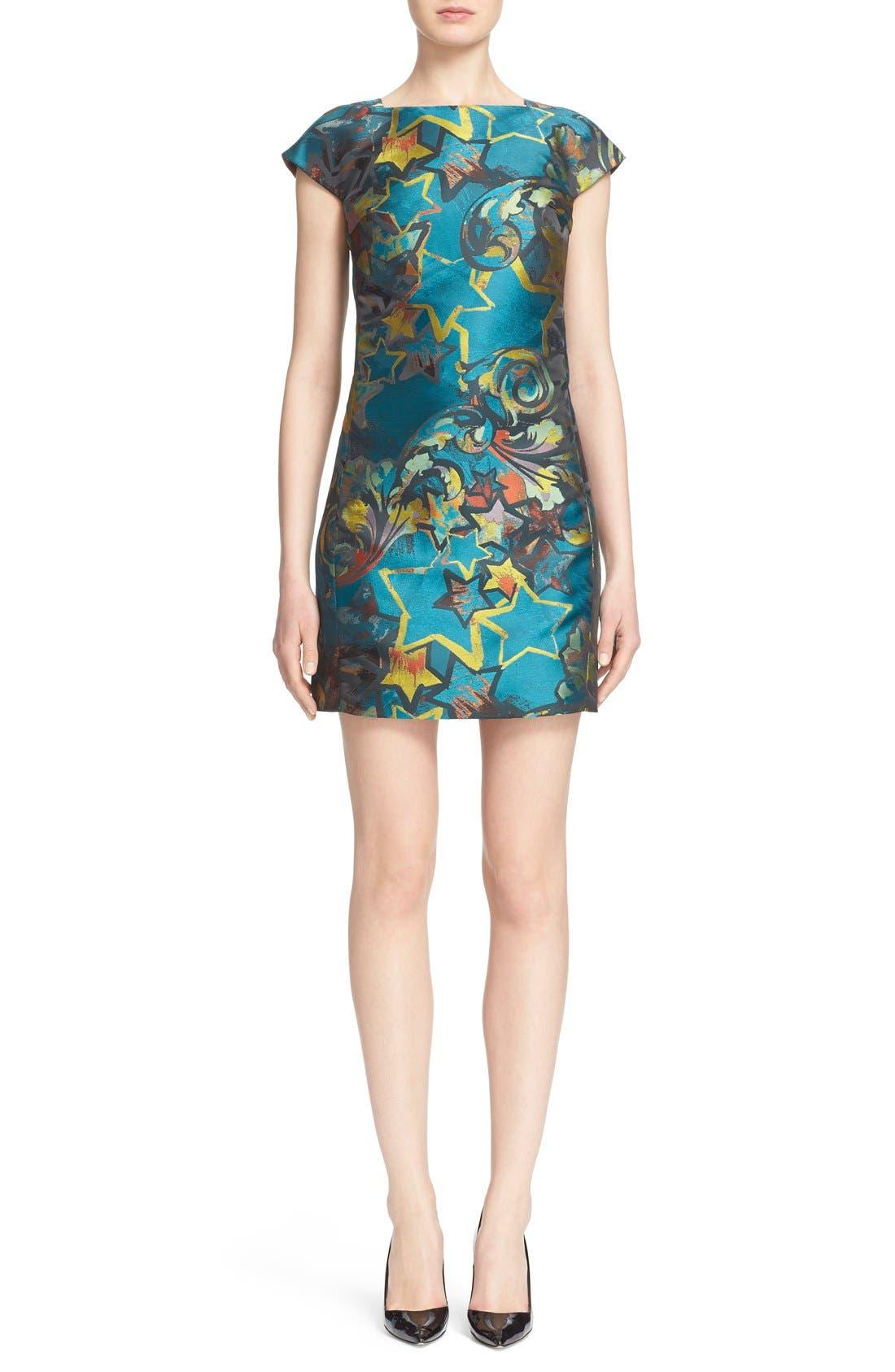 Alternate Image 1  - Versace Collection Jacquard Dress