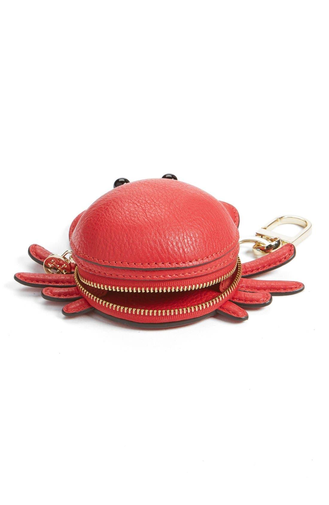 Alternate Image 2  - Tory Burch 'Carl Crab' Coin Pouch Bag Charm