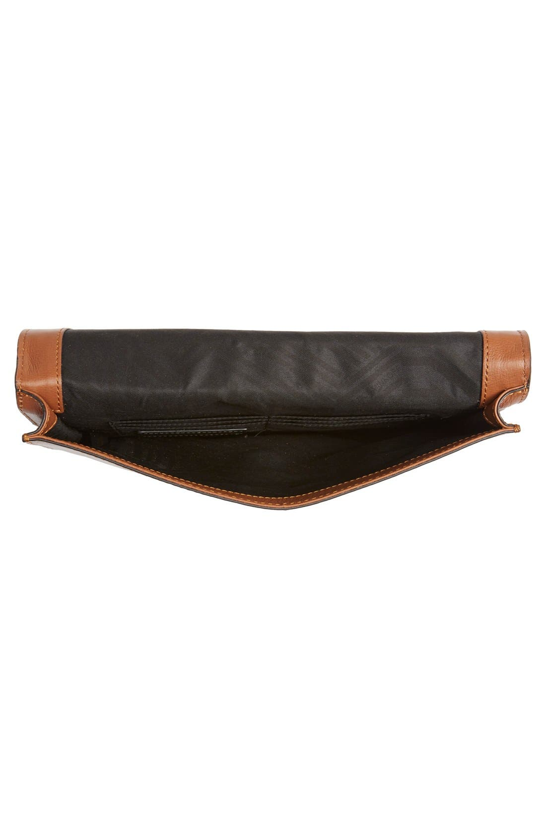Alternate Image 4  - Rebecca Minkoff 'Sofia' Tassel Patchwork Leather Clutch