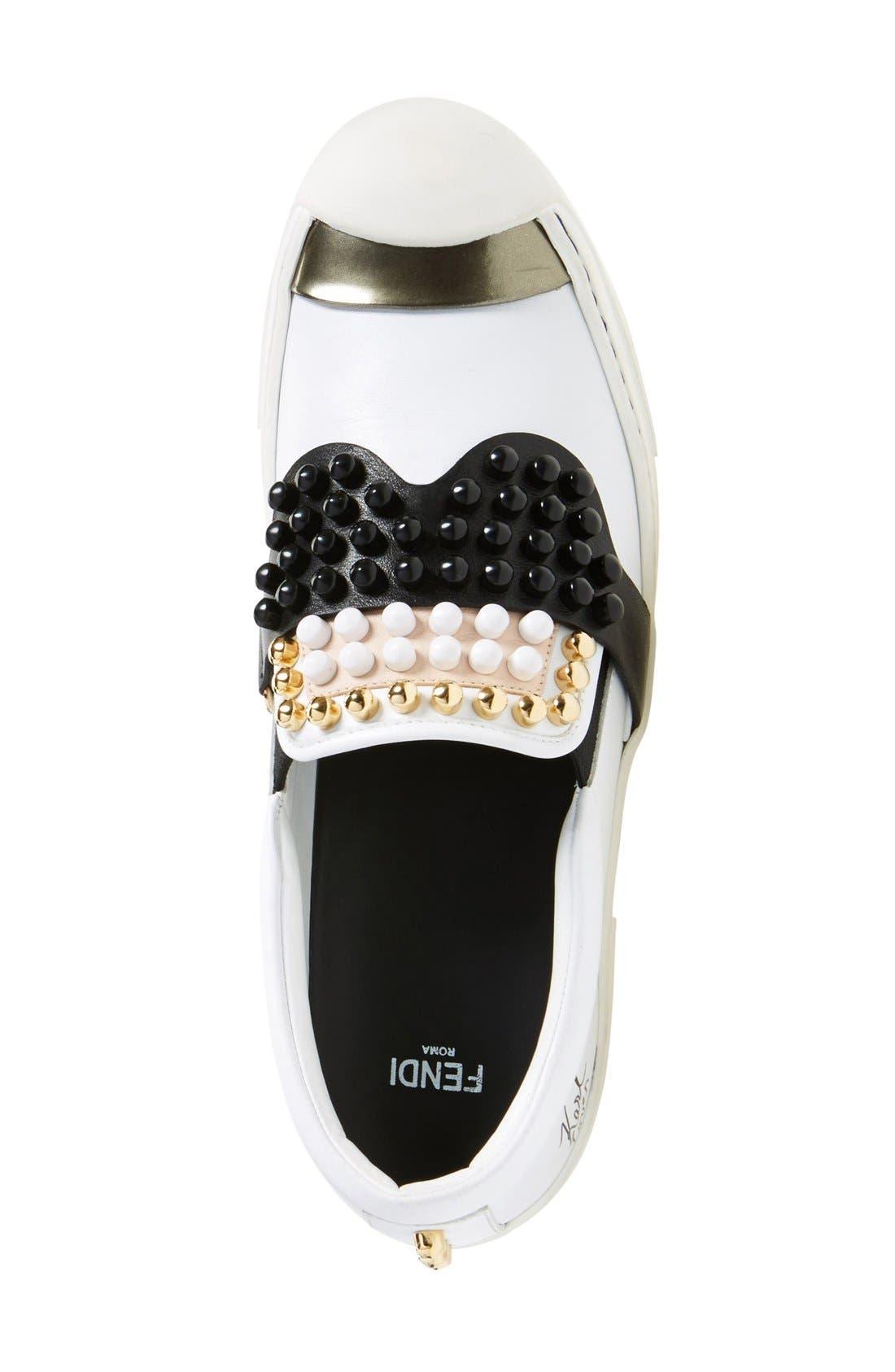 Alternate Image 3  - Fendi 'Karlito' Slip-On Sneaker (Women)