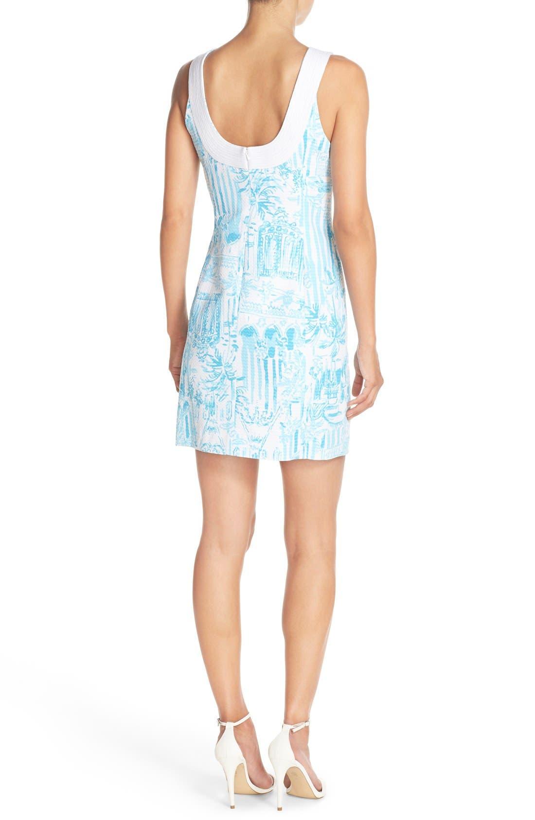 Alternate Image 2  - Lilly Pulitzer® 'Valli' Soutache Print Jacquard Sheath Dress