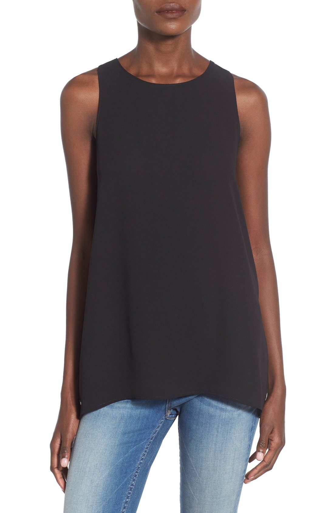 Alternate Image 1 Selected - Lush Side Slit Tank
