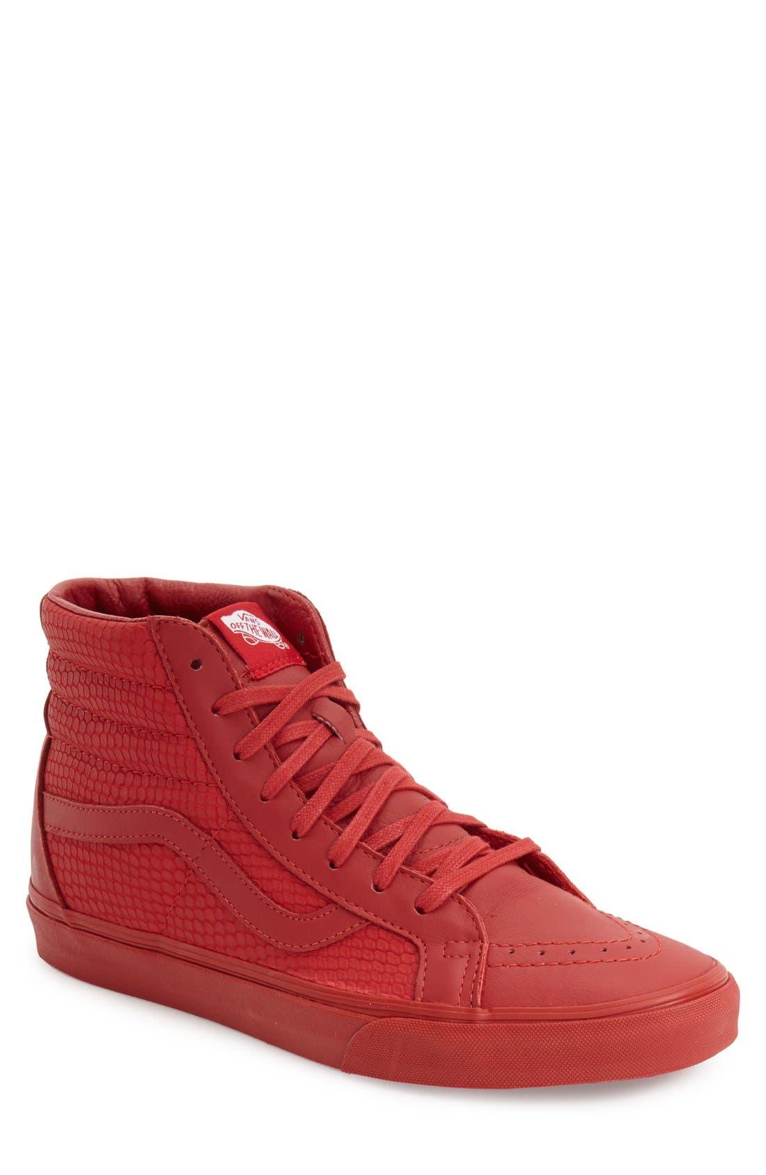 Alternate Image 1 Selected - Vans 'Sk8-Hi Reissue Plus' Sneaker (Men)