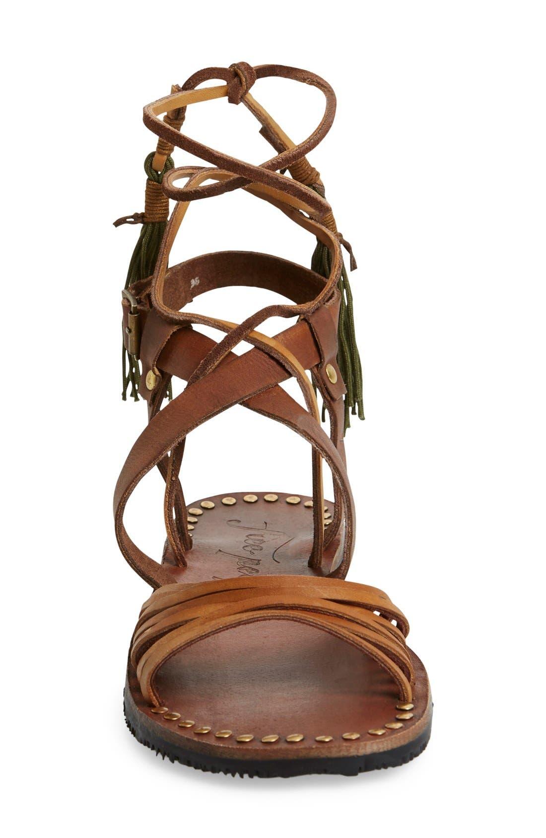 Alternate Image 4  - Free People 'Willow' Gladiator Sandal (Women)
