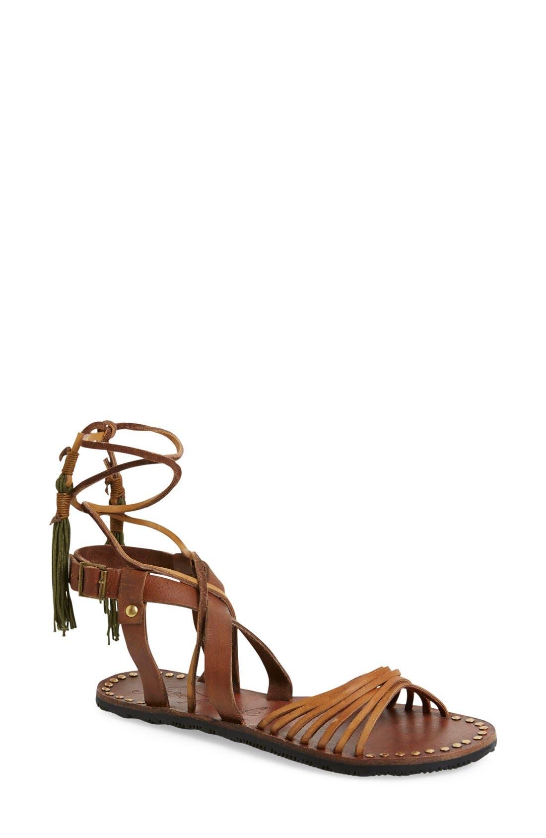 Alternate Image 1 Selected - Free People 'Willow' Gladiator Sandal (Women)