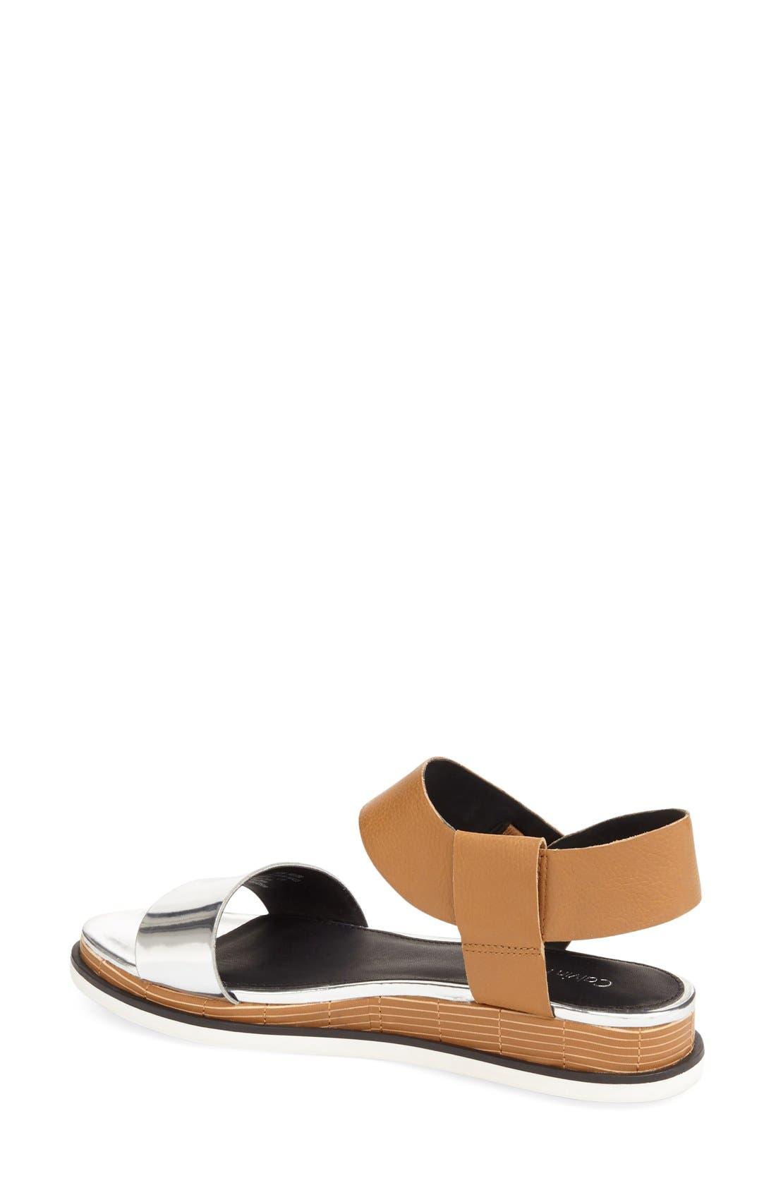 Alternate Image 2  - Calvin Klein 'Cadan' Demi Wedge Sandal (Women)