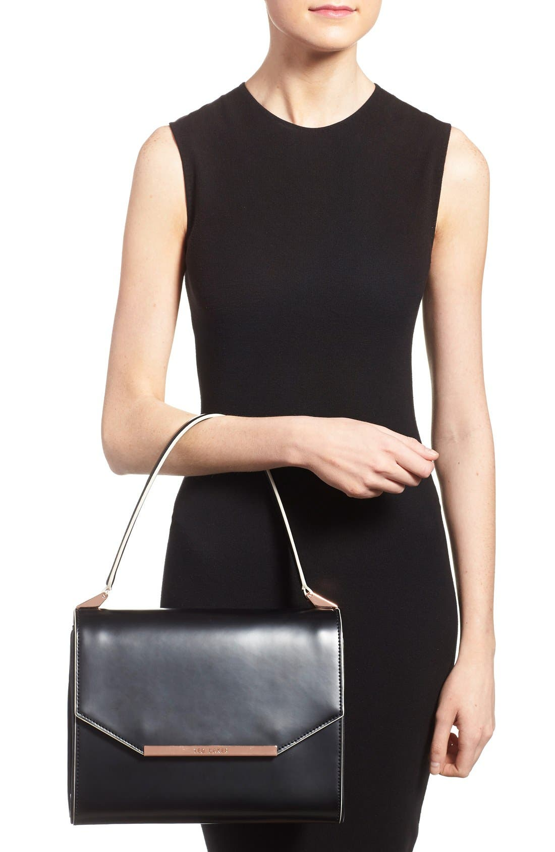 Alternate Image 2  - Ted Baker London Leather Shoulder Bag