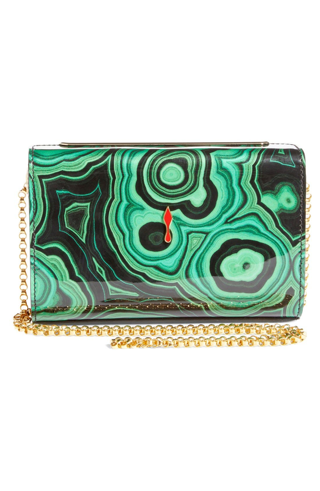 Alternate Image 2  - Christian Louboutin 'Vanité' Printed Leather Clutch