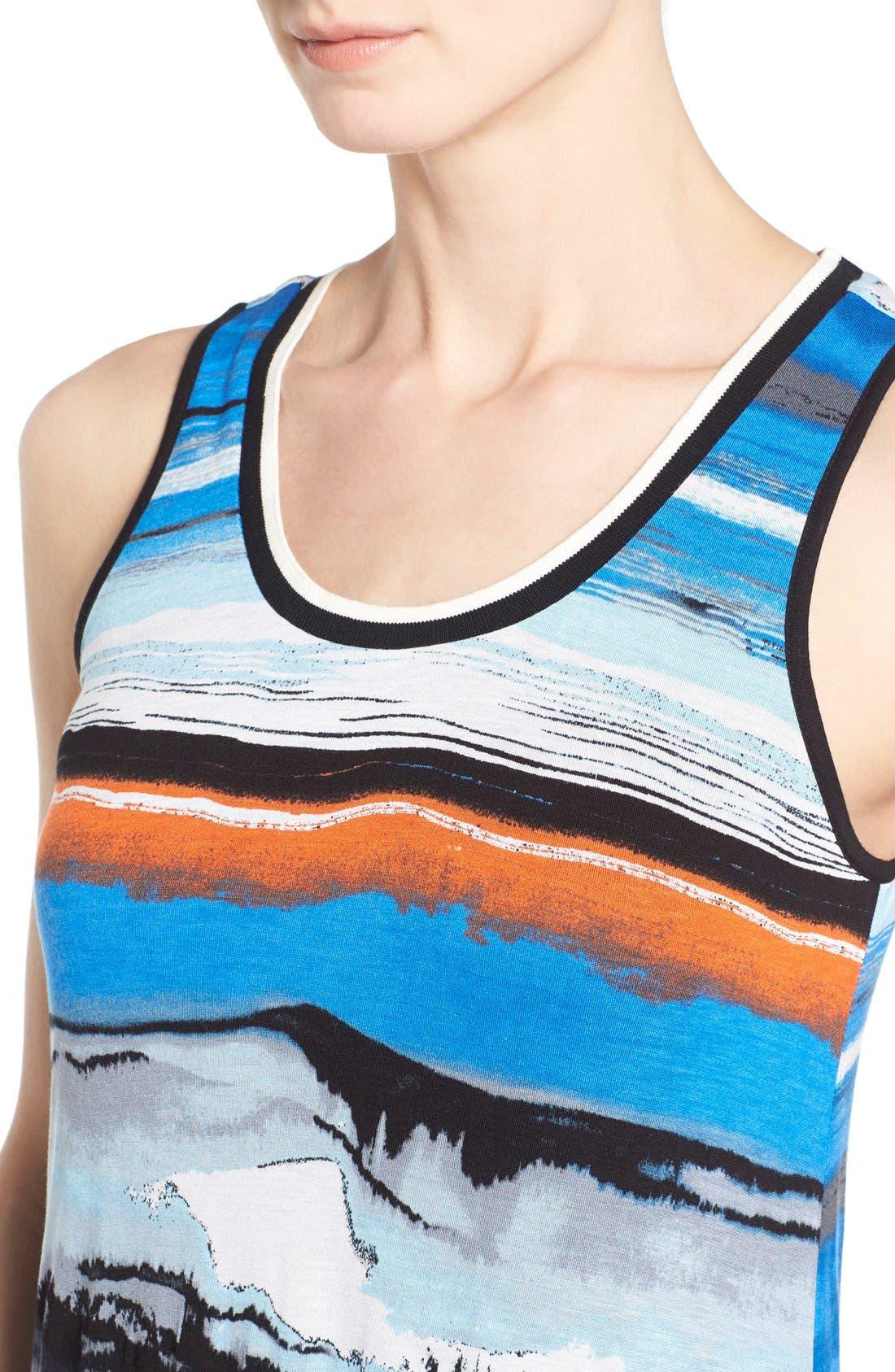 Alternate Image 4  - kensie Print Maxi Dress