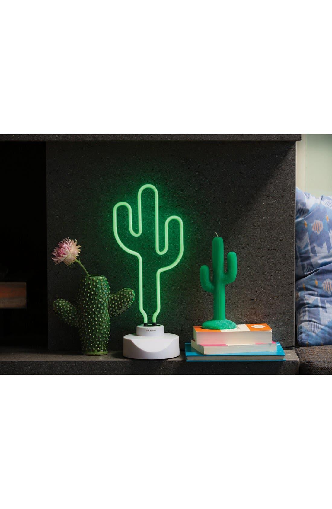 Alternate Image 3  - Sunnylife Cactus Neon Light