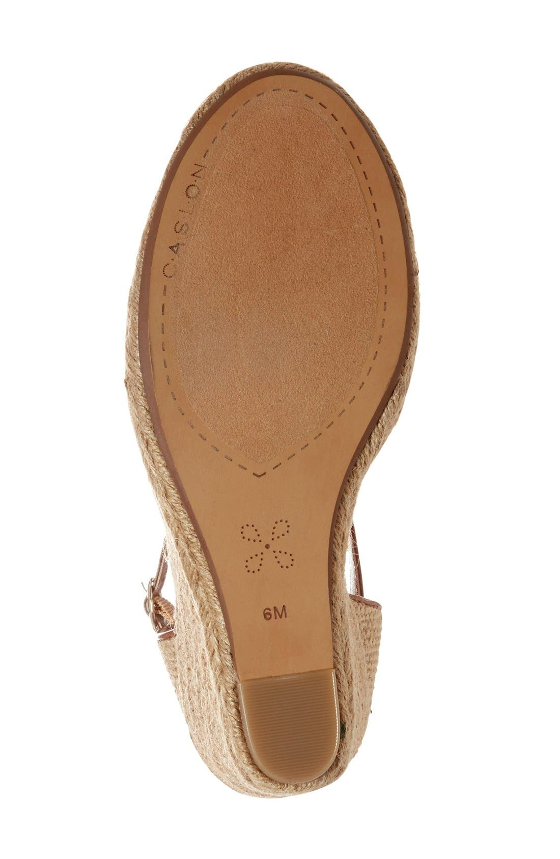 Alternate Image 4  - Caslon® 'Blaire' Espadrille Wedge (Women)