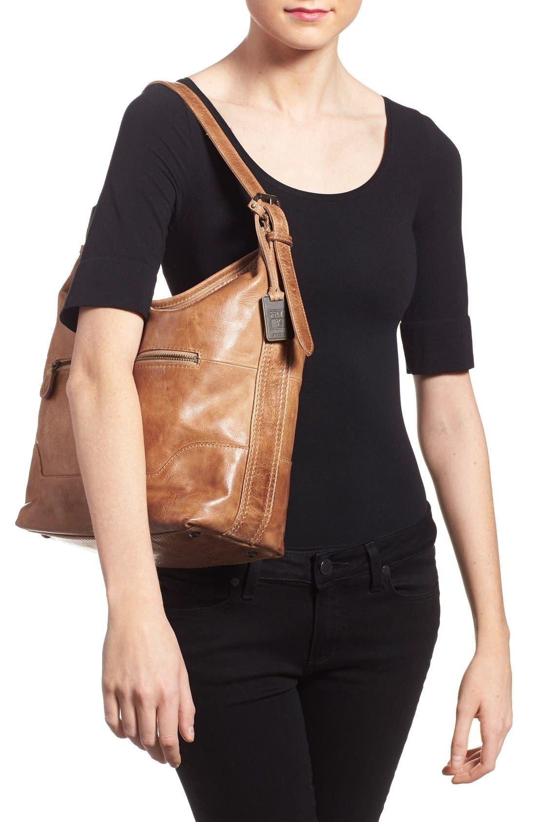 Alternate Image 2  - Frye 'Melissa' Washed Leather Bucket Bag