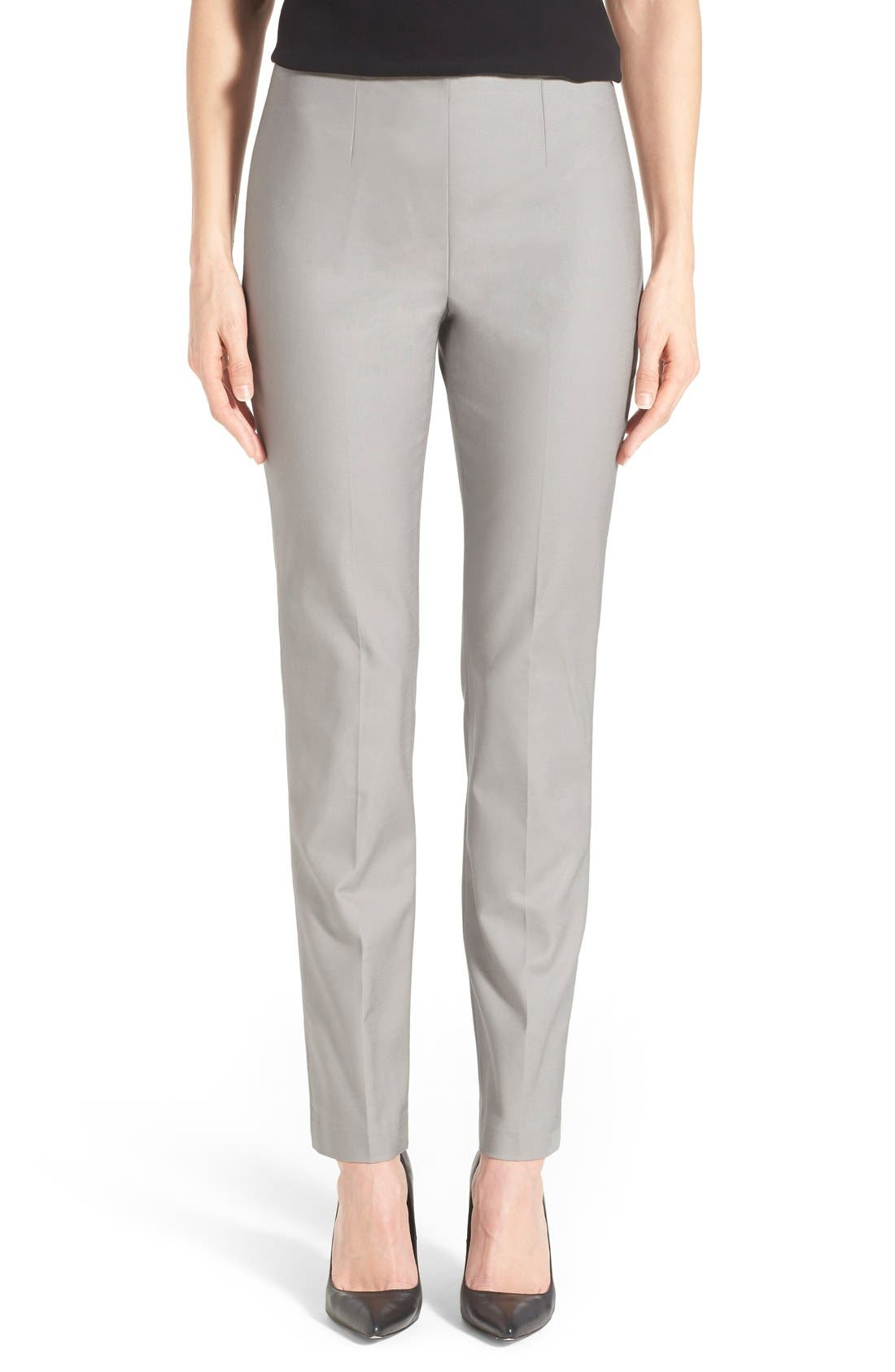 Main Image - NIC+ZOE 'The Perfect' Side Zip Ankle Pants (Petite)