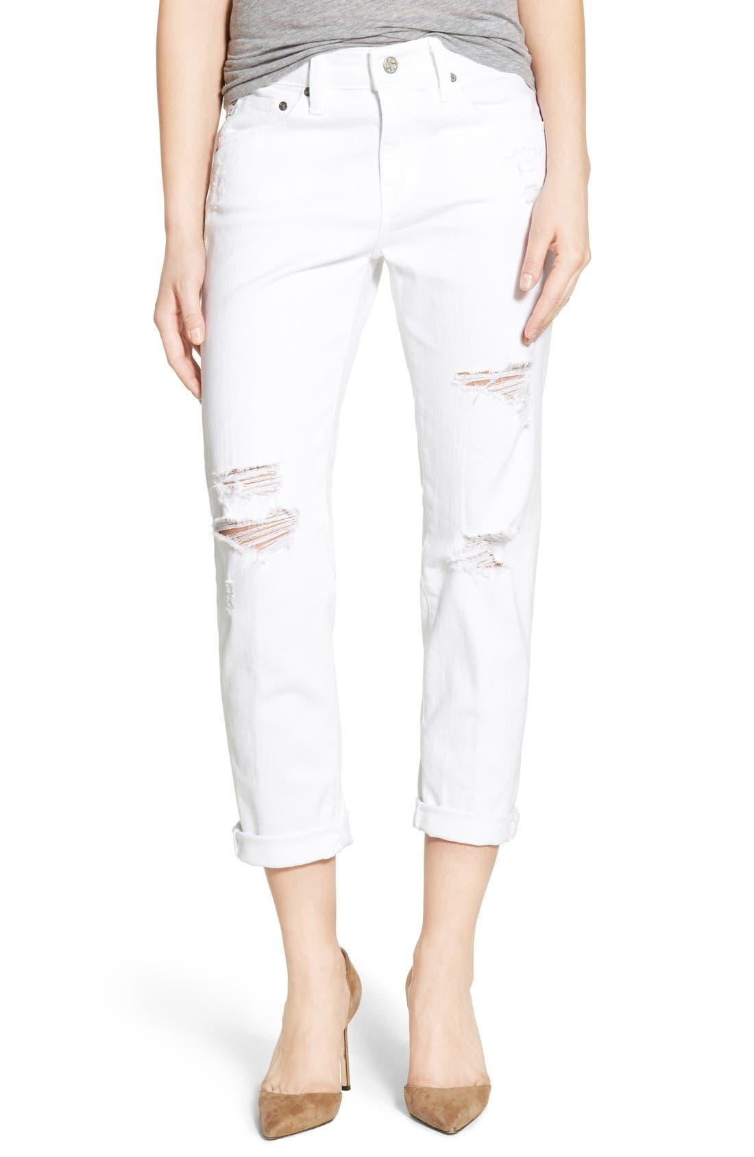 AG 'The Ex-Boyfriend' Crop Slim Jeans