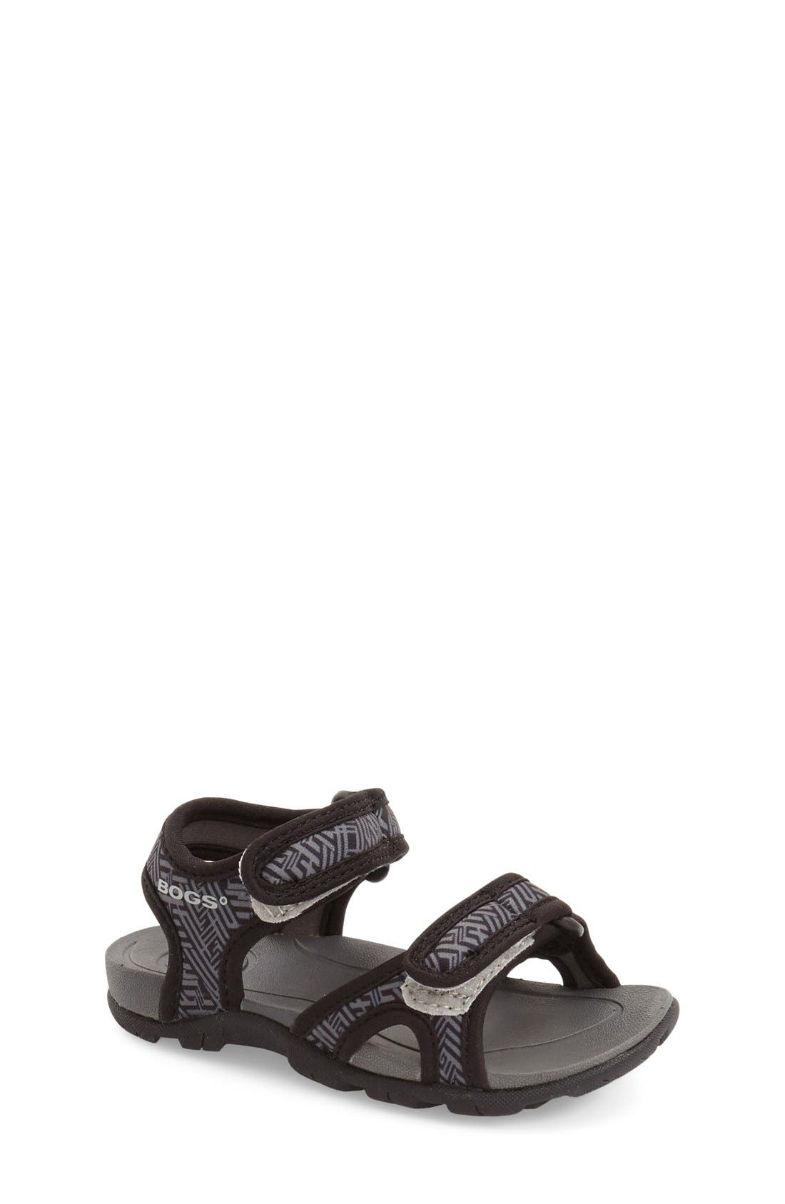 Bogs Whitefish Shatter Waterproof Sandal (Walker, Toddler & Little Kid)