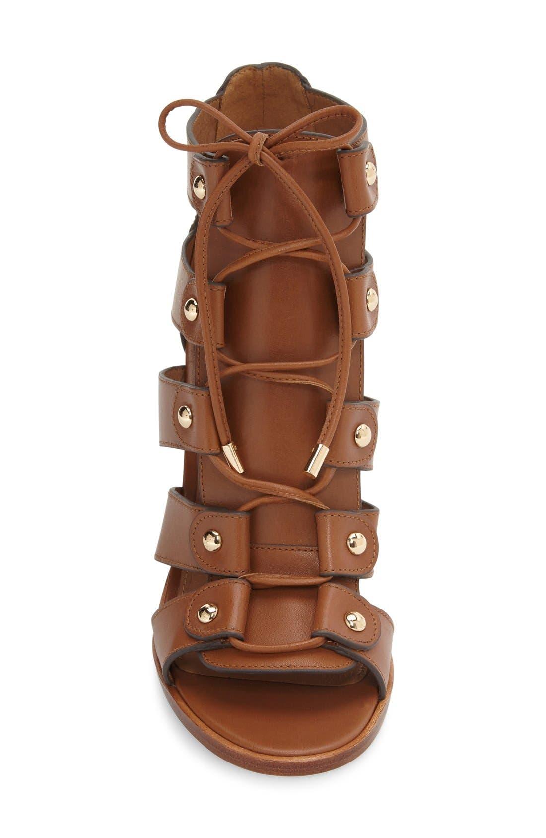 Alternate Image 3  - COACH 'Leslie' Lace-Up Sandal (Women)