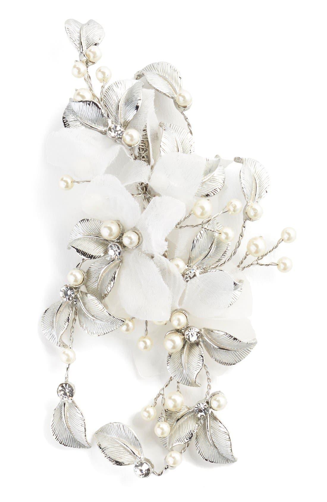 Alternate Image 2  - Wedding Belles New York 'Genevive' Crystal Hair Comb