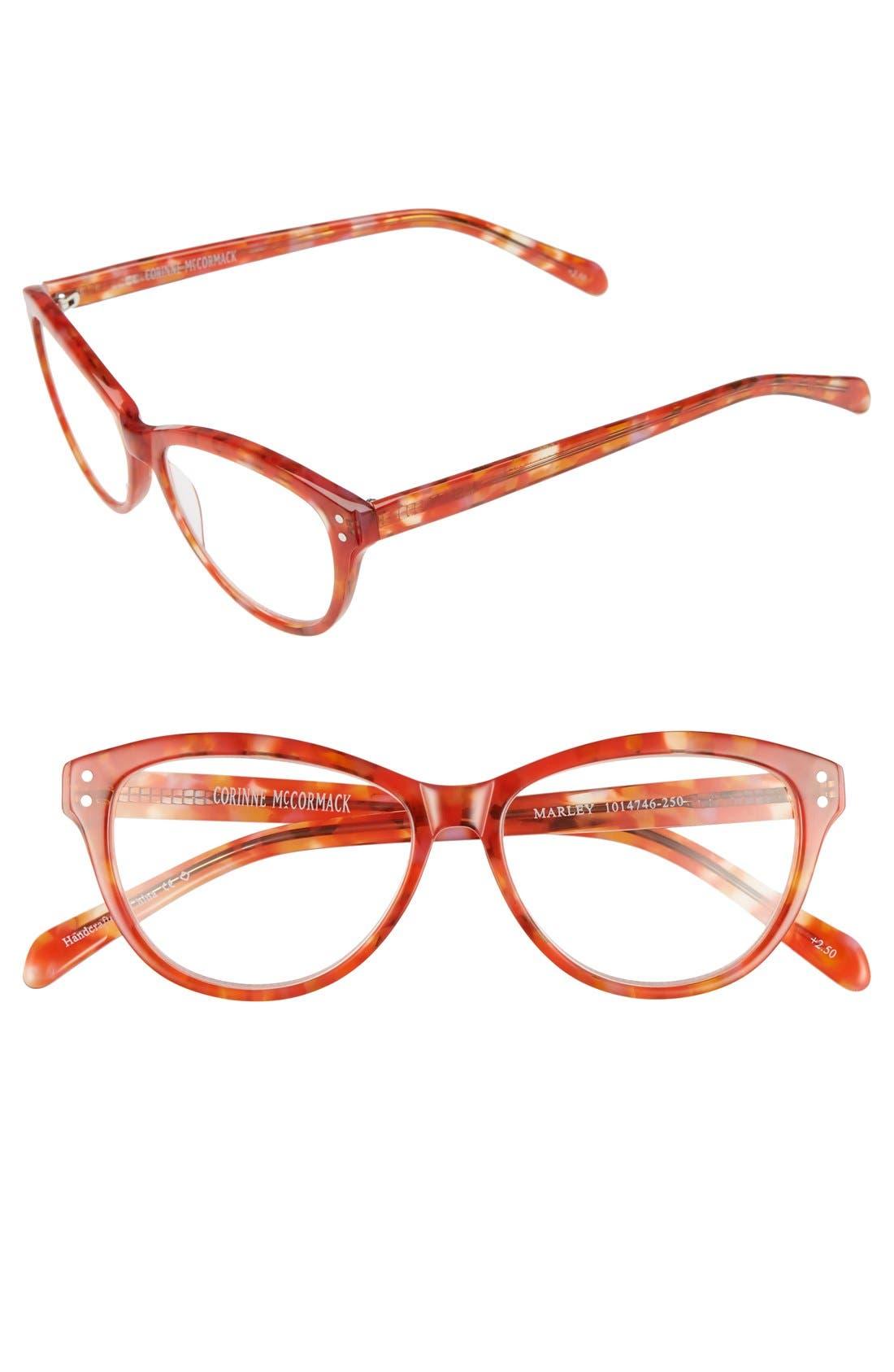 corinne mccormack marley 53mm reading glasses nordstrom
