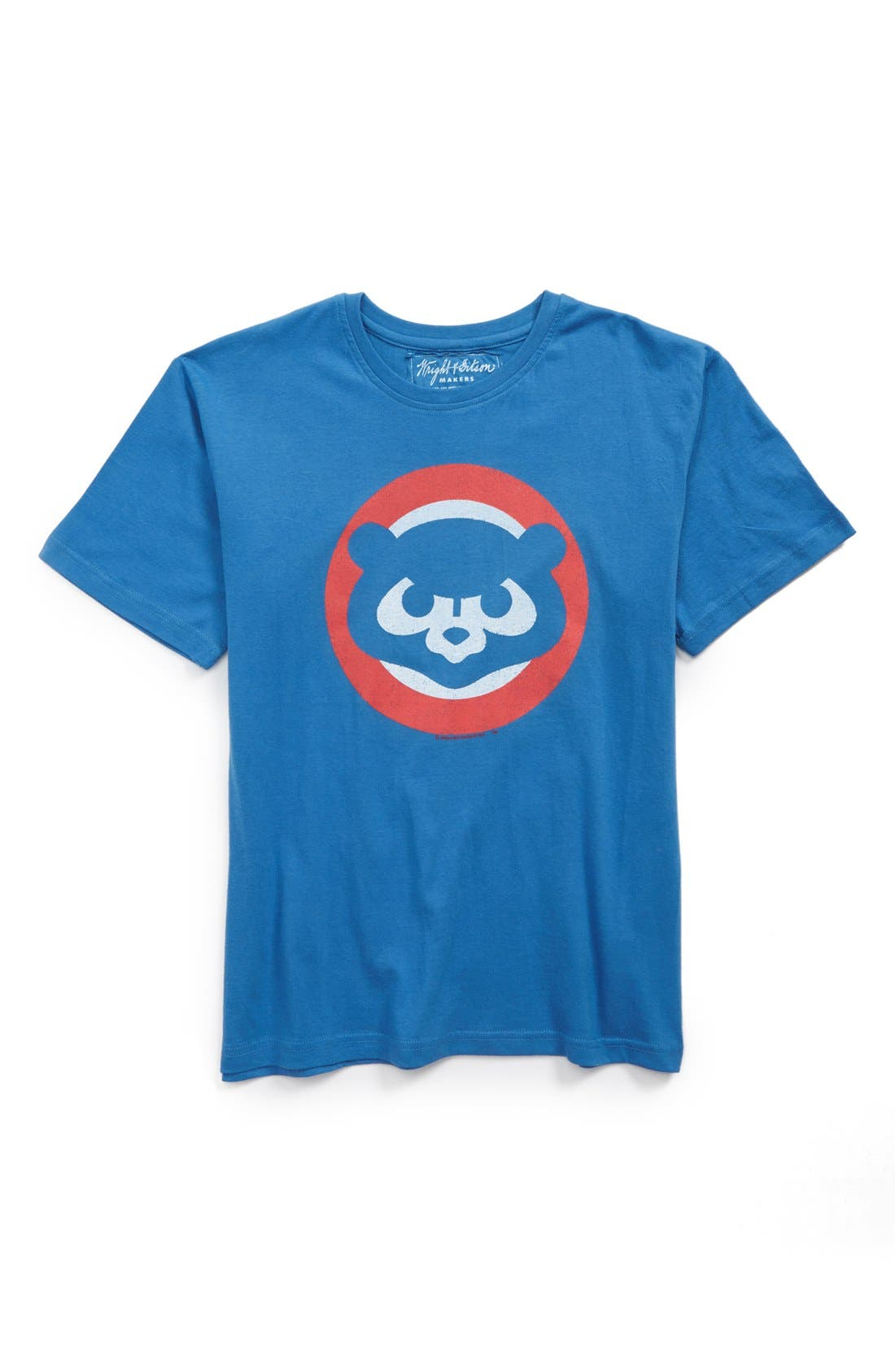 Wright & Ditson 'Chicago Cubs' T-Shirt (Little Boys & Big Boys)