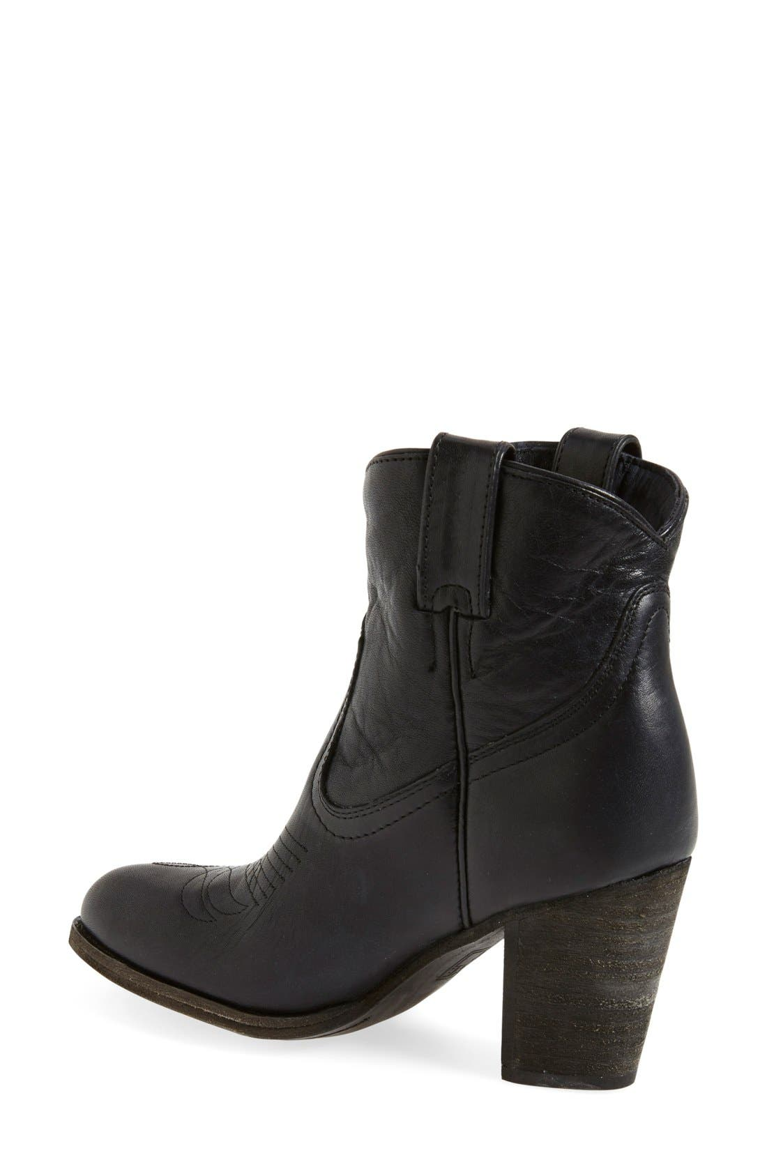 Alternate Image 2  - Frye 'Ilana' Short Western Boot (Women)