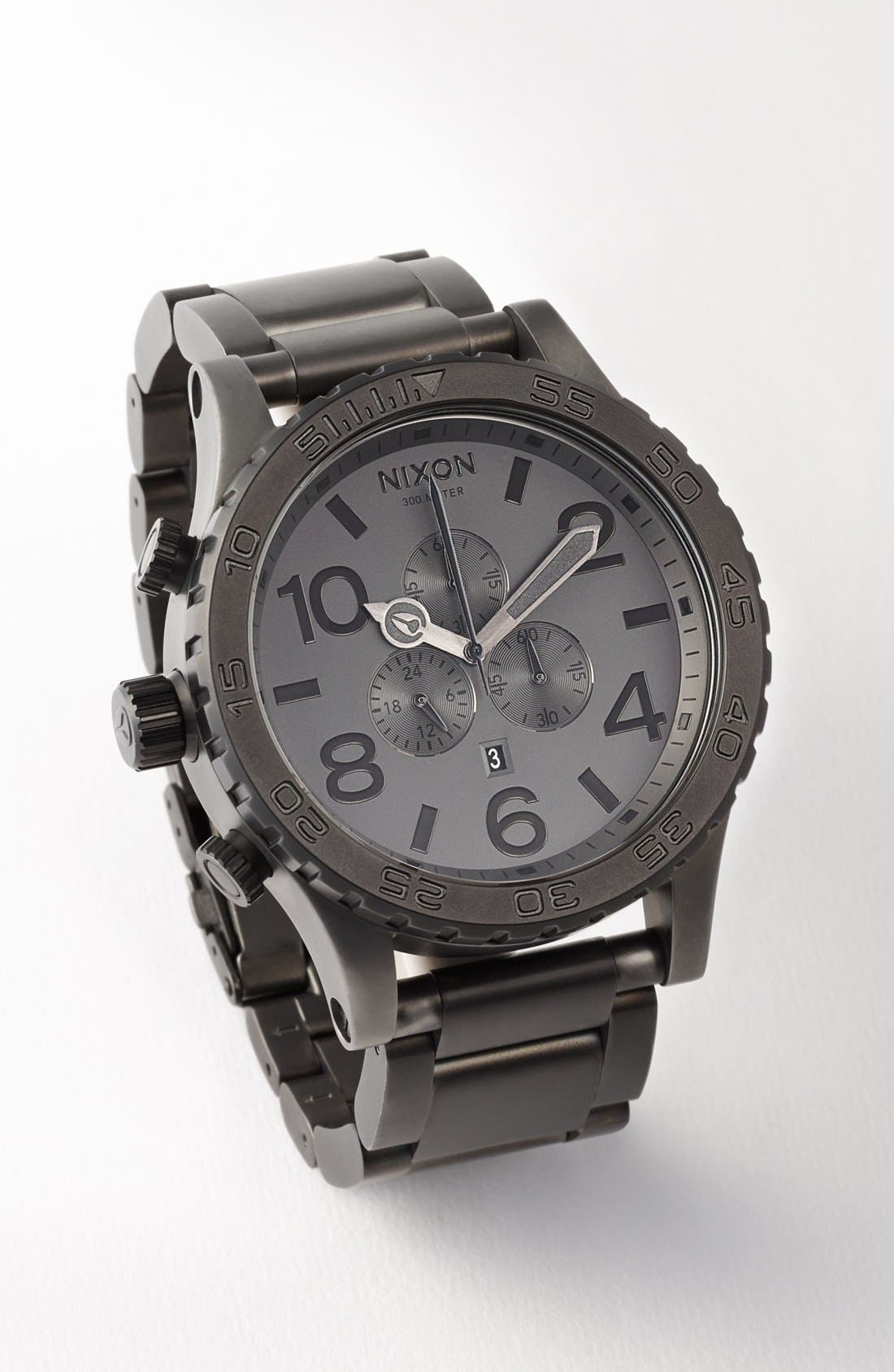 Alternate Image 4  - Nixon 'The 51-30 Chrono' Watch, 51mm