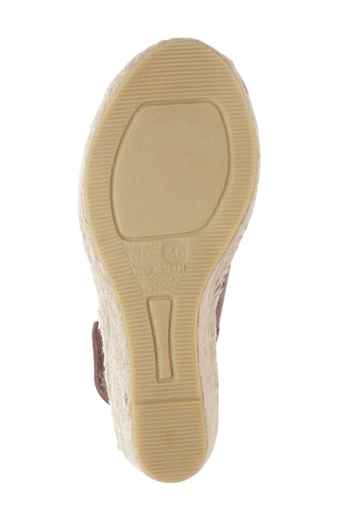 Alternate Image 4  - Bettye Muller 'Download' Suede Wedge Espadrille Sandal (Women)