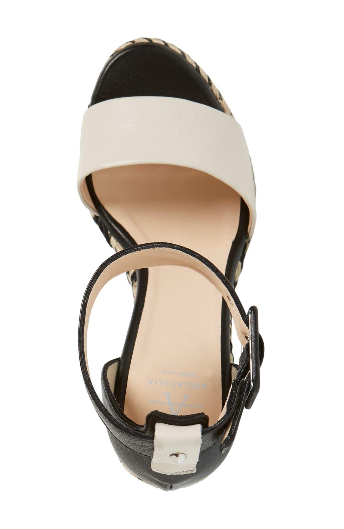 Alternate Image 3  - Aquatalia 'Kady' Wedge Espadrille Sandal (Women)