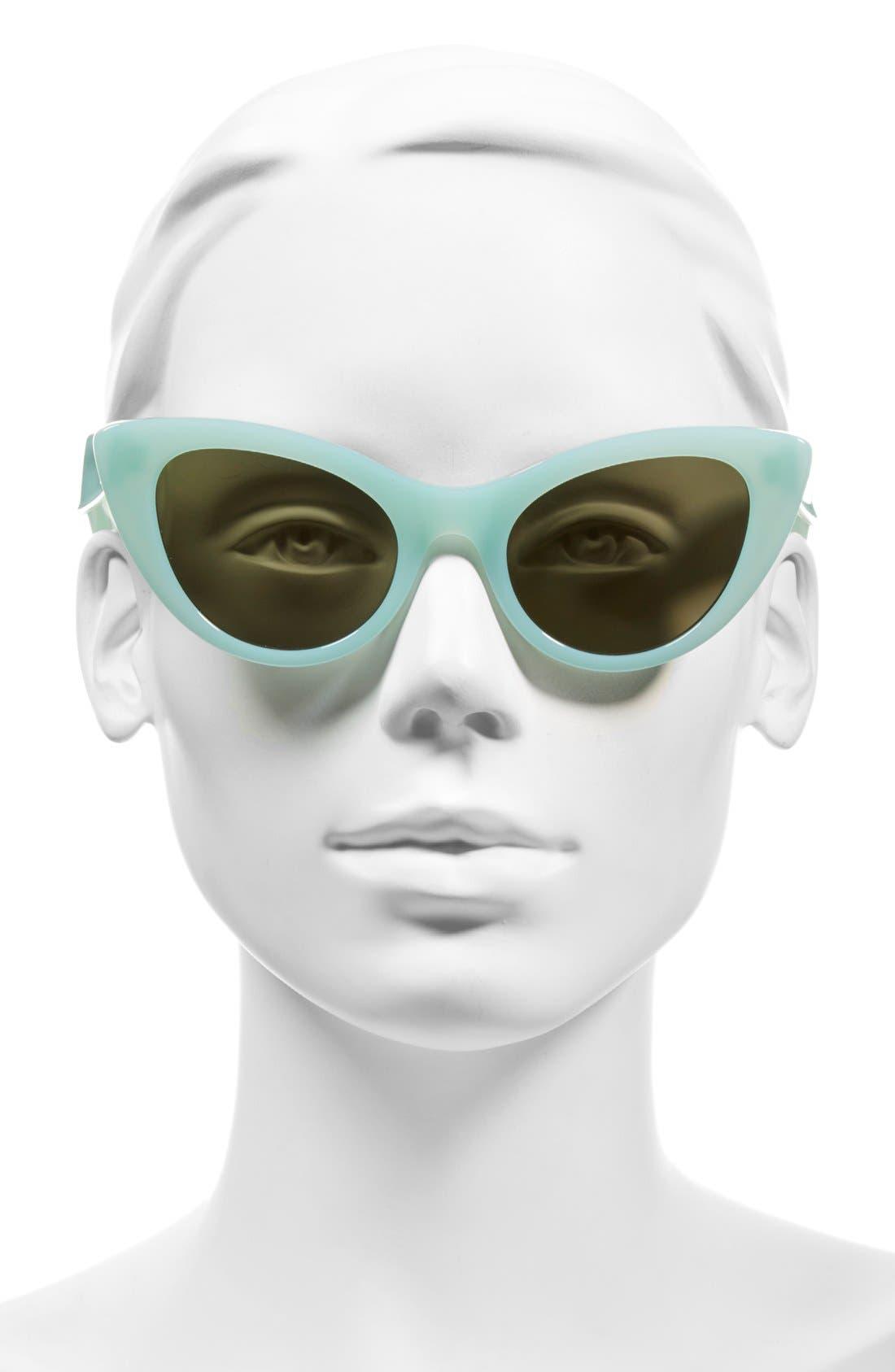 Alternate Image 2  - kate spade new york 'deandra' 50mm cat eye sunglasses