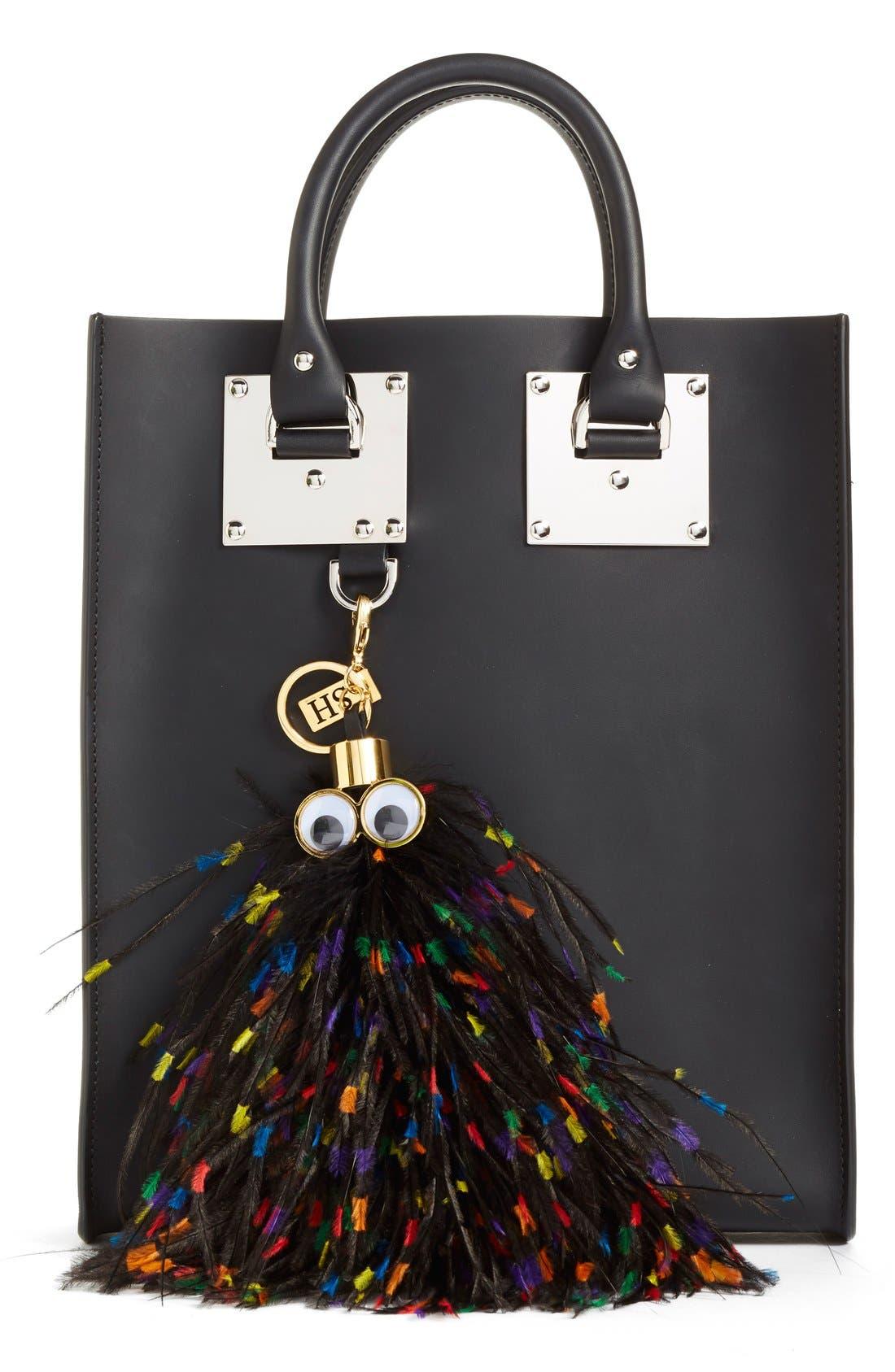 Alternate Image 2  - Sophie Hulme 'George' Feather Bag Charm