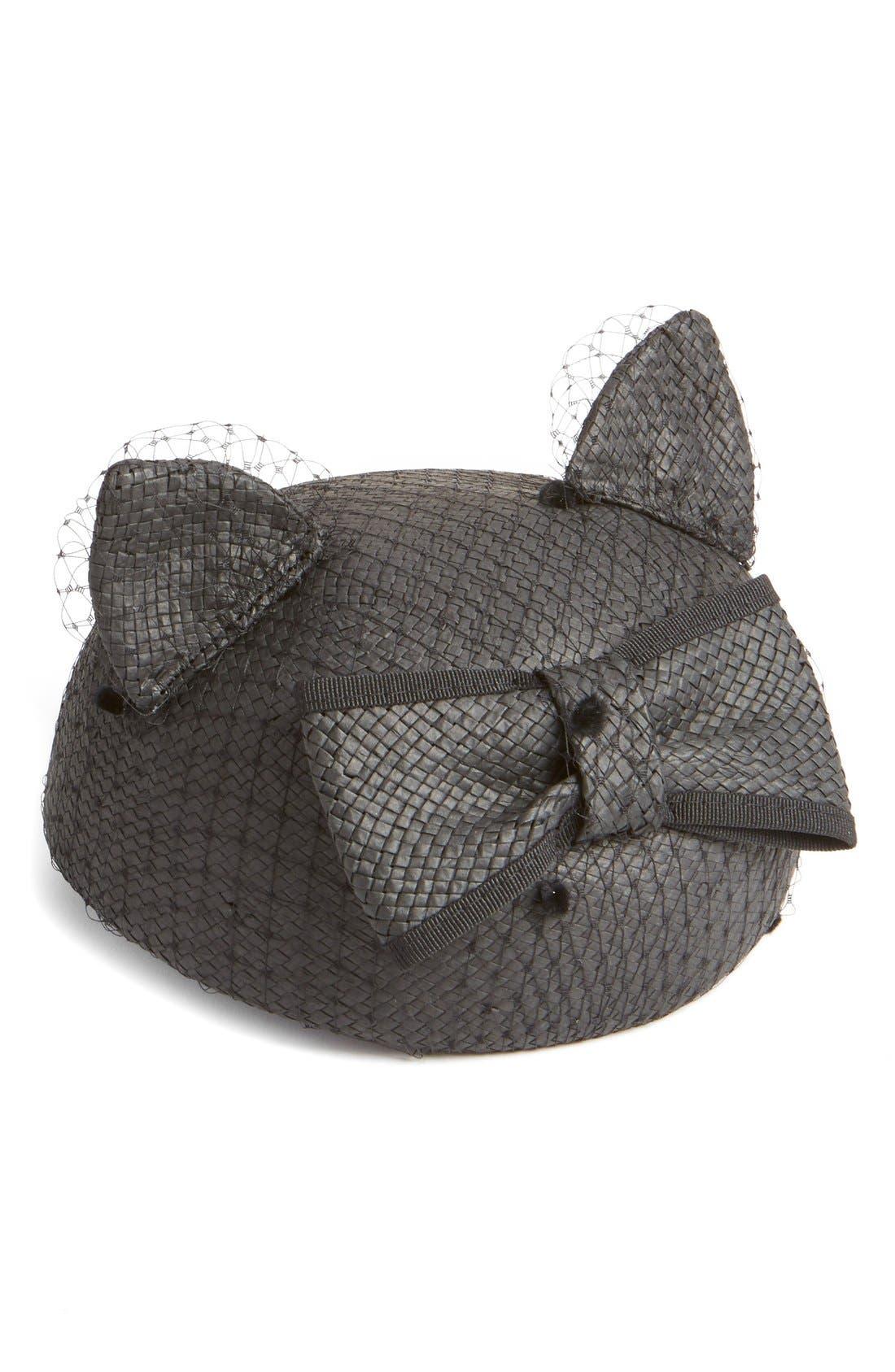 Alternate Image 1 Selected - Helene Berman Veiled Cat Hat