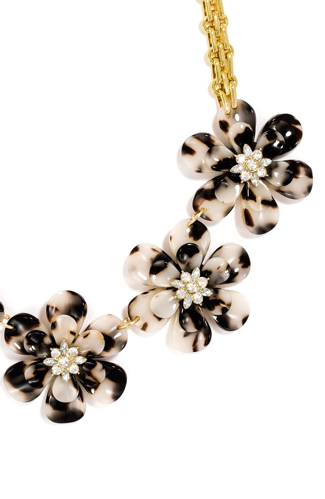 Alternate Image 3  - BaubleBar 'Twiggy' Floral Collar Necklace