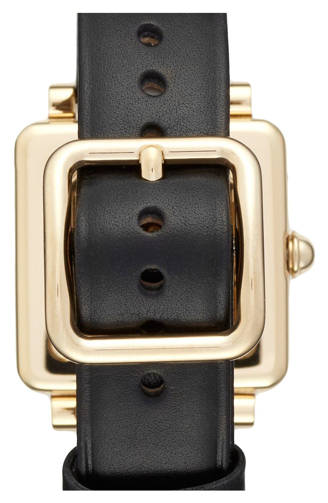 Alternate Image 2  - MARC JACOBS 'Vic' Leather Strap Watch, 30mm