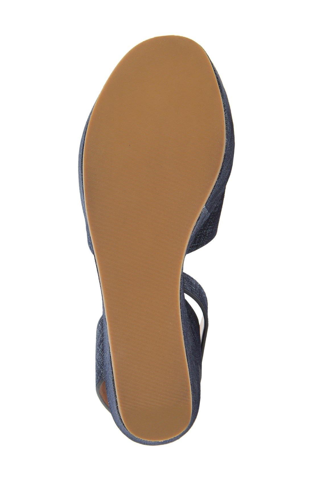 Alternate Image 4  - Derek Lam 10 Crosby 'Faye' Raffia Platform Sandal (Women)