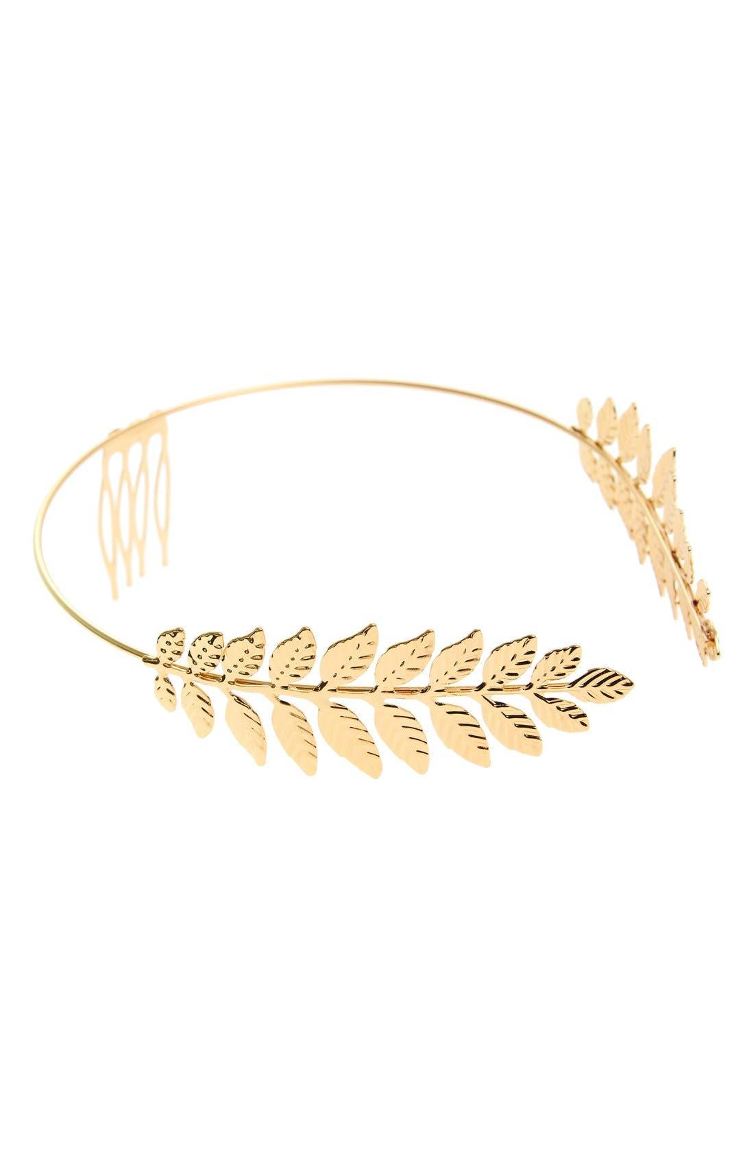 Main Image - Cara Leaf Headband