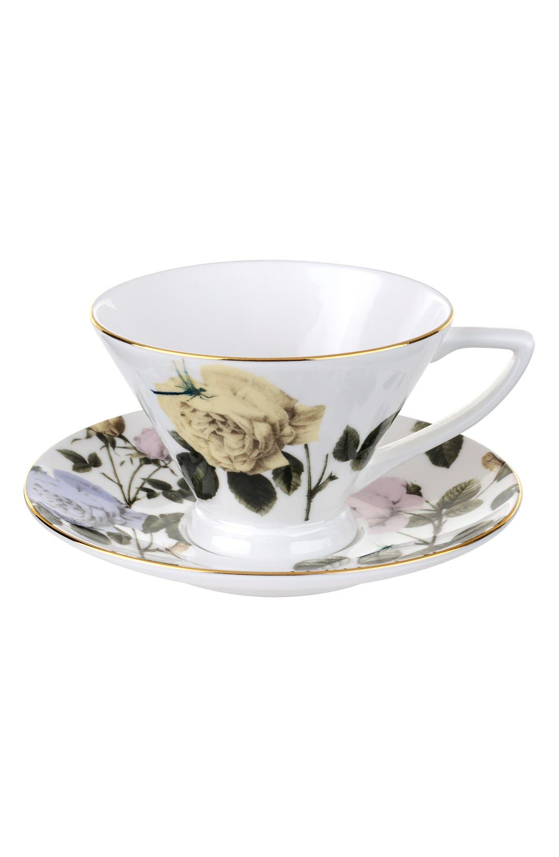 Alternate Image 1 Selected - Portmeirion x Ted Baker 'Rosie Lee' Teacup & Saucer