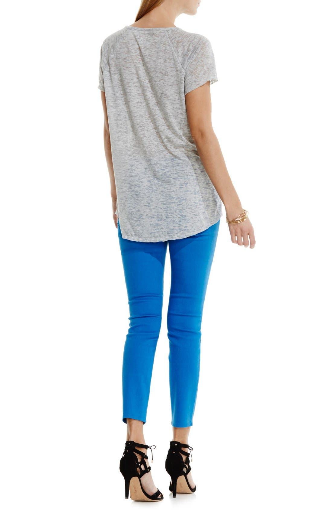 Alternate Image 4  - Two by Vince Camuto 'In Flight' Burnout Tee