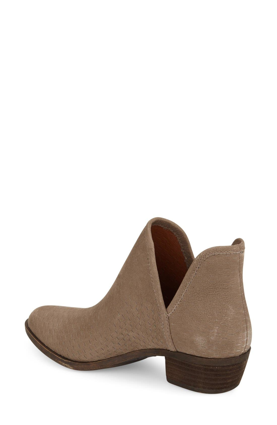 Alternate Image 2  - Lucky Brand 'Bashina' Perforated Bootie (Women)