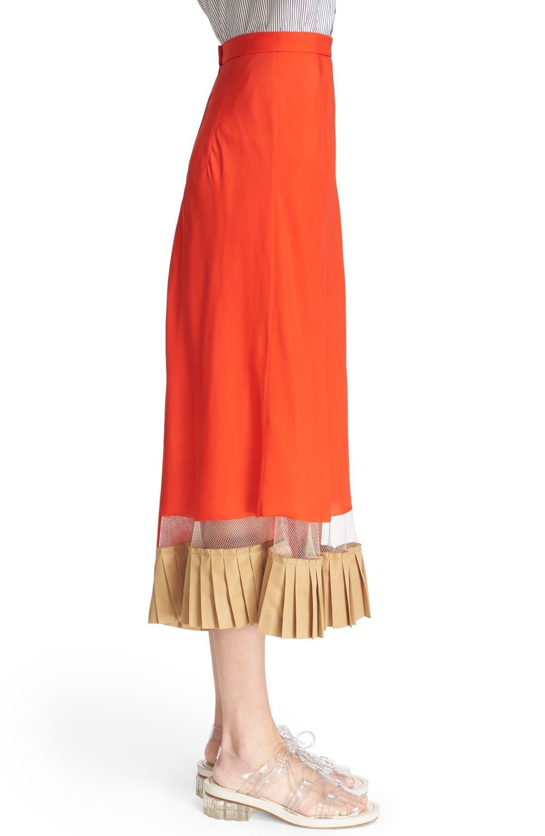 Alternate Image 5  - TOGA Asymmetrical Illusion Hem Skirt