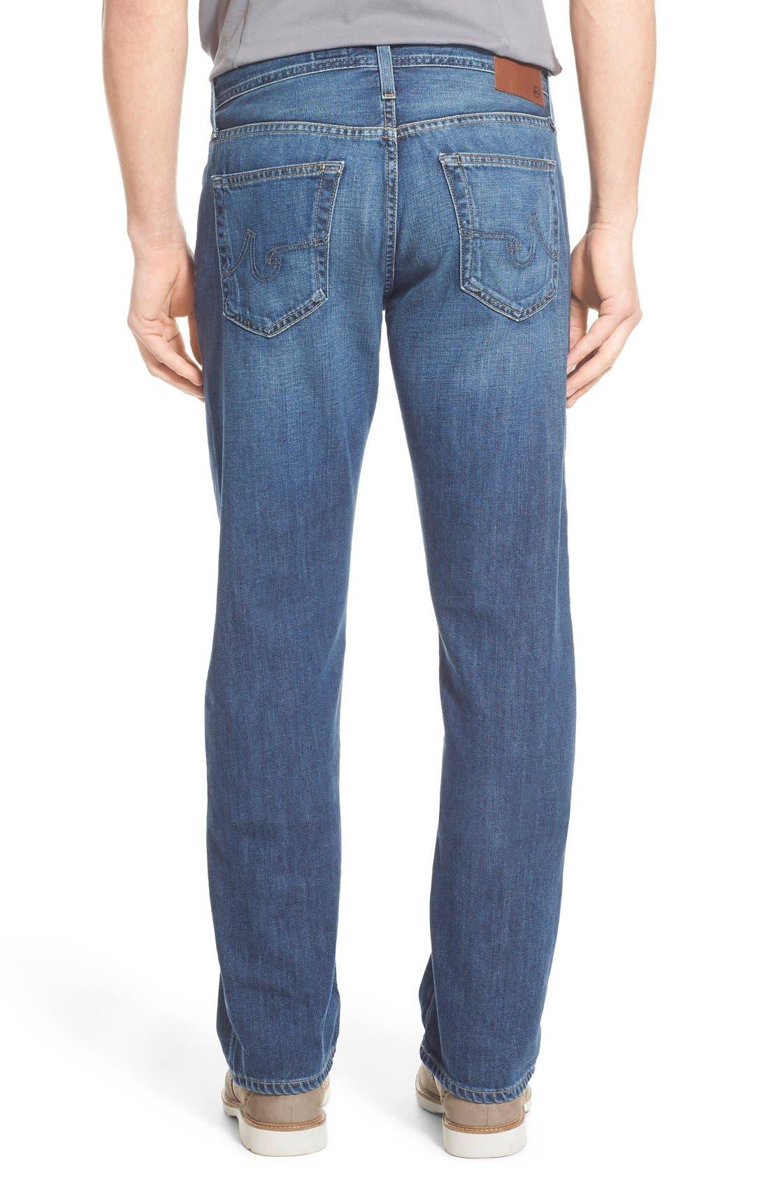 Alternate Image 6  - AG 'Protégé' Straight Leg Jeans (Tate)