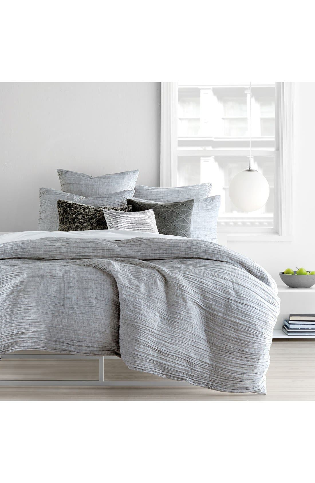 DKNY 'City Pleat' Duvet Cover