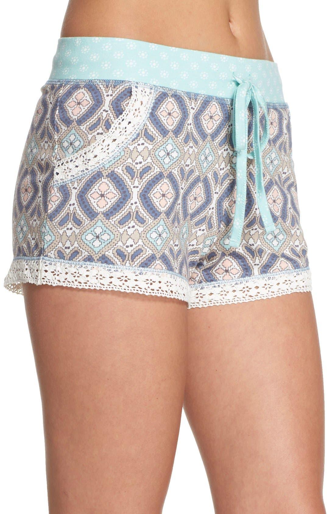 Alternate Image 3  - PJ Salvage 'Miss' Print Pajama Shorts
