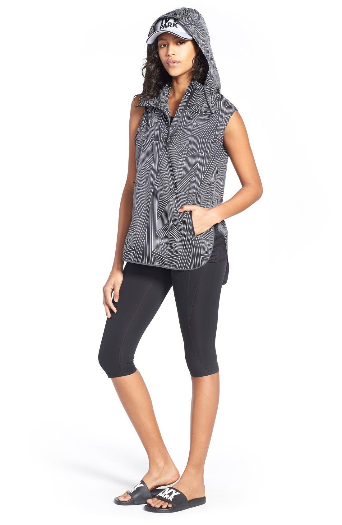 IVY PARK® Jacket, Bra Top & Capri Leggings