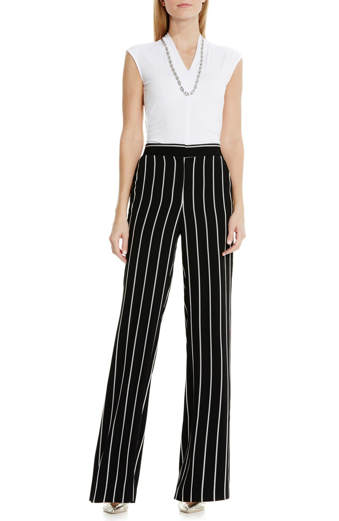 Alternate Image 3  - Vince Camuto Stripe Wide Leg Pants